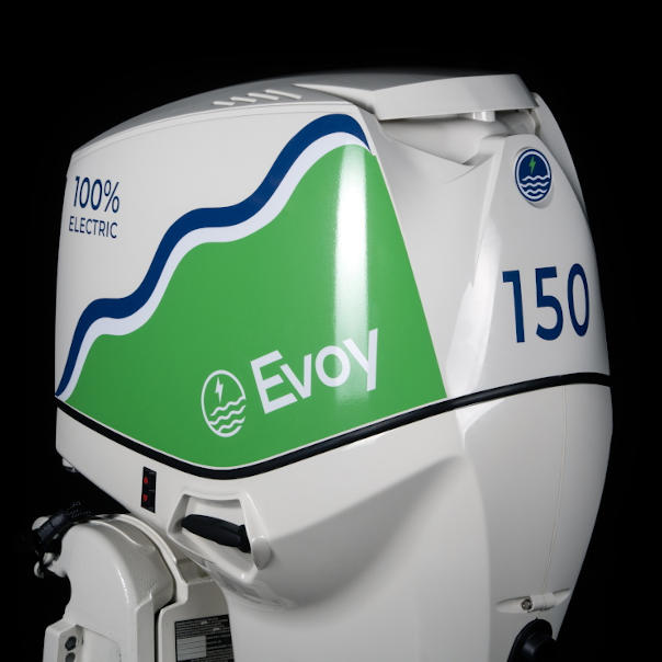 Image of Evoy electric 150hp outboard motor