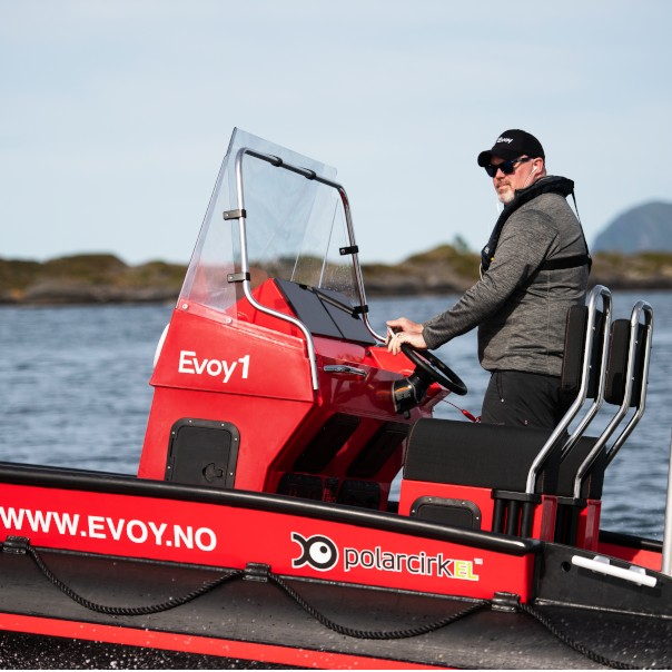 Image of Evoy electric boat systems