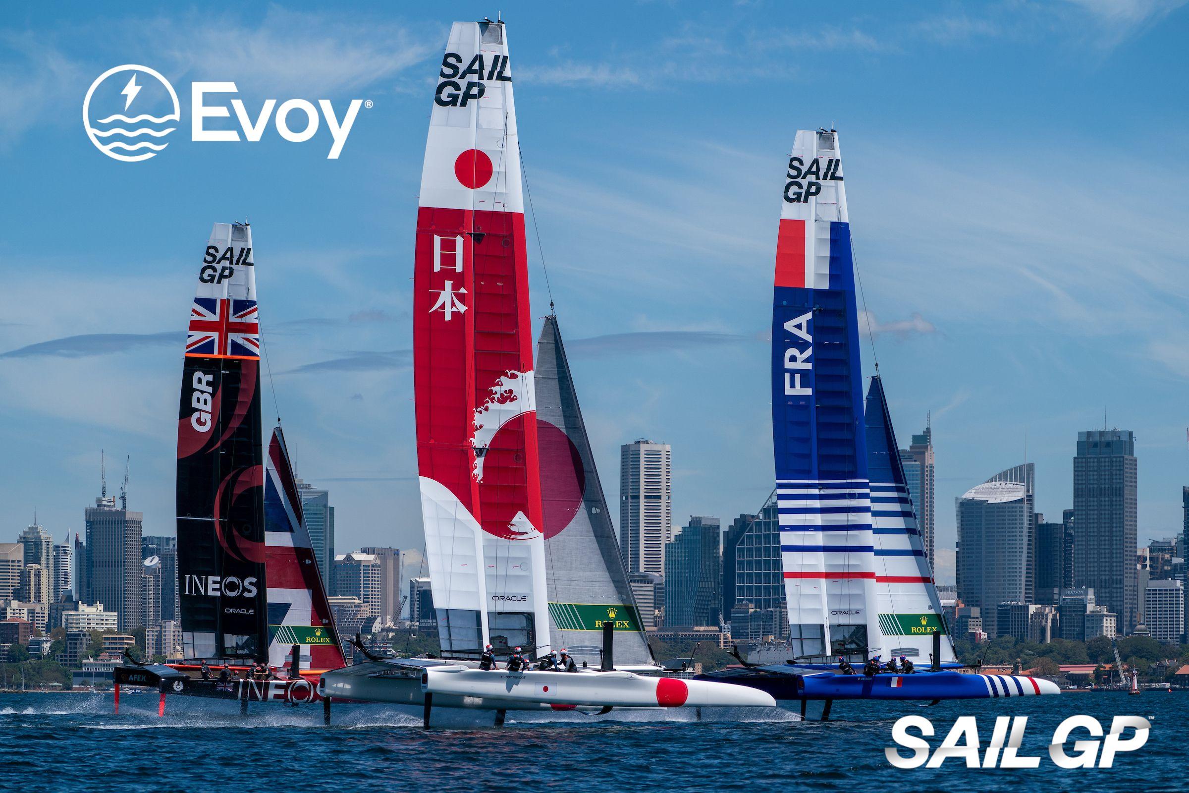 Image of SailGP Racing boats