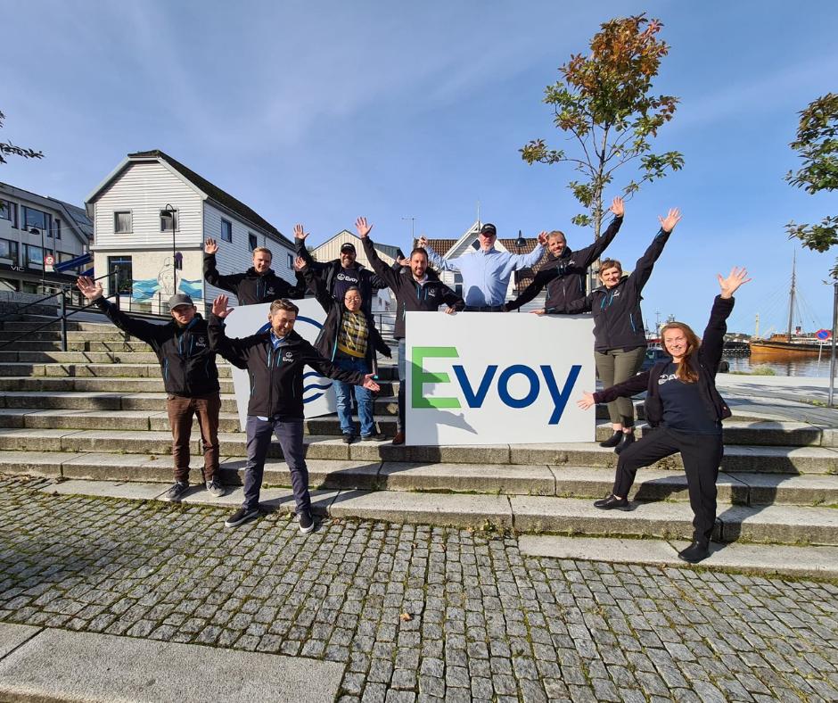 Image of Evoy employees