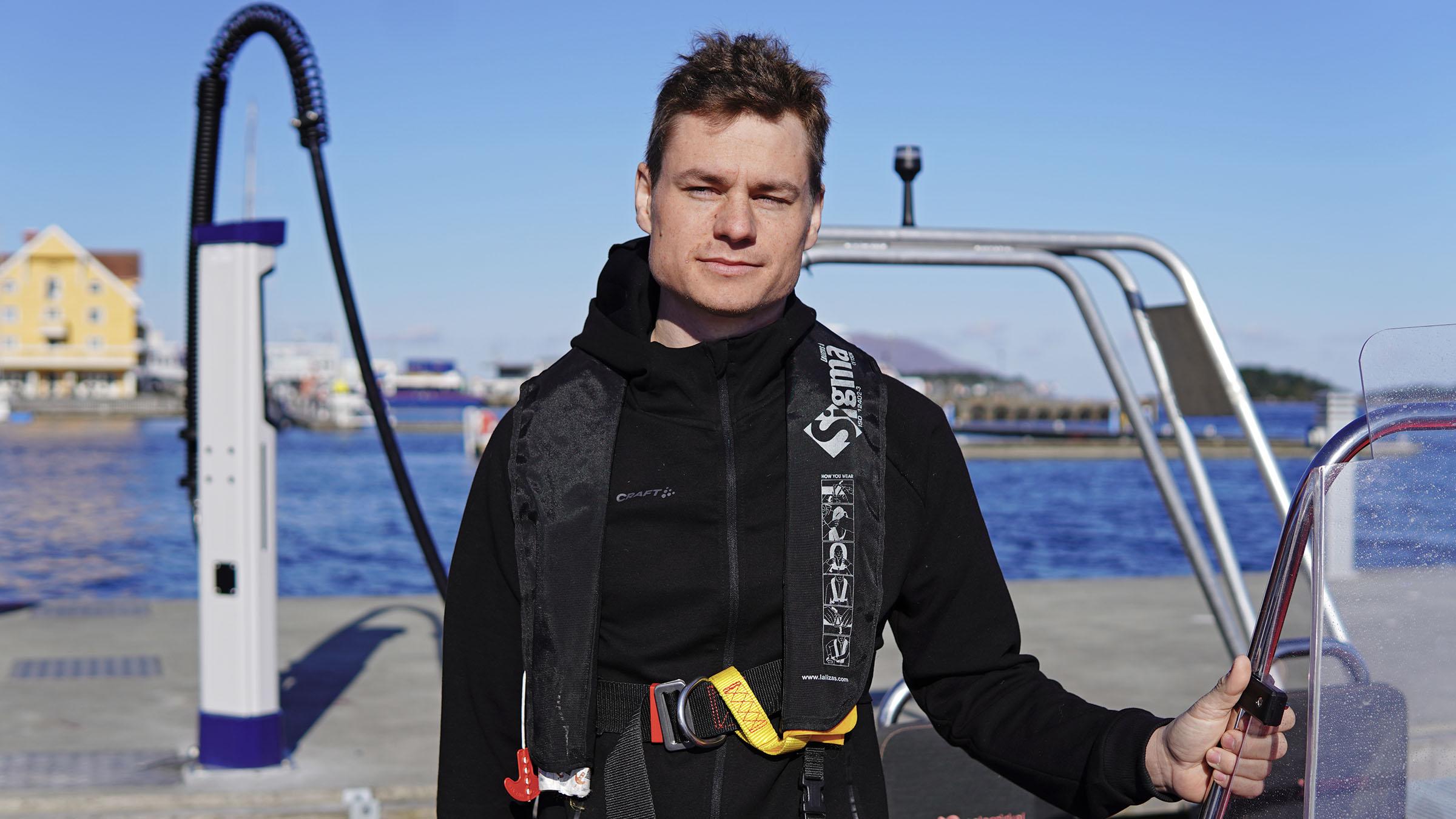 Marius Dyrseth CTO of Evoy