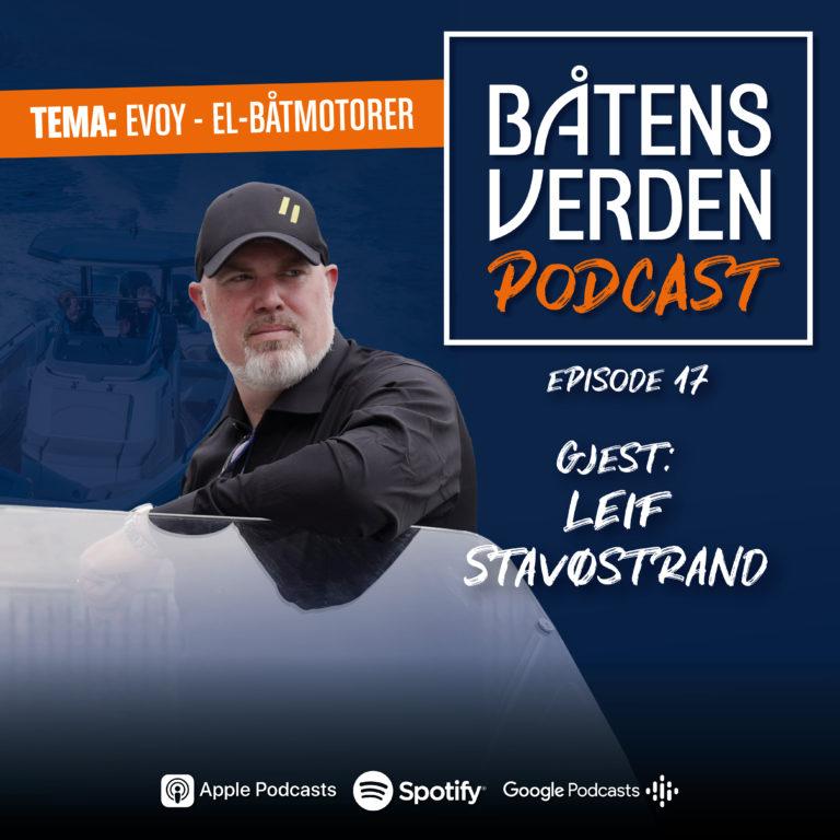 evoy podcast båtens verden